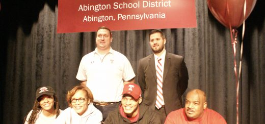 Abington Senior High School Celebrates George Reid's College Signing to Temple University Division I Football