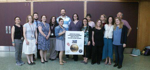 Abington World Language Department Wins Pennsylvania State Golden Globe Language Award
