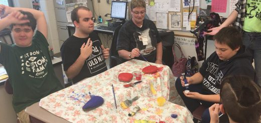 Copper Beech Elementary School and Abington Senior High School Students Team Up for a Kindness Project