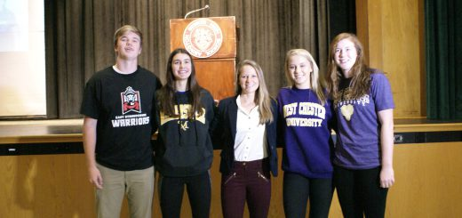 Abington Senior High School Celebrates Class of 2018 November National College Letters of Intent Signing