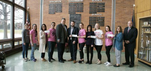 "Abington Senior High School's ""Real Ghosts Wear Pink!""  Breast Cancer Awareness Football Game Donates $5,500 to Fight Breast Cancer"