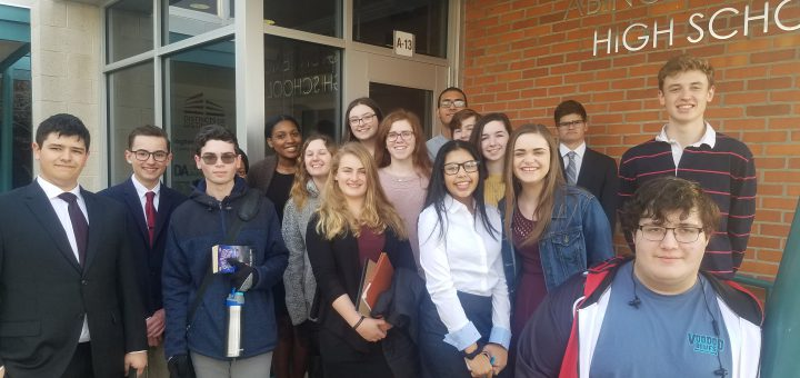 Mock Trial Competes 2/5/2019