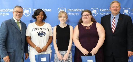 Penn State Abington Awards $30,000 in Scholarships to Abington Senior High School Graduates through New Partnership