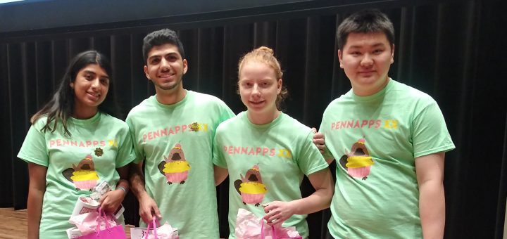 Sofiya Lysenko, 12th grade student, won 1st place at PennApps XX Hackathon