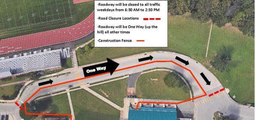 Road Closure at Abington Senior High School