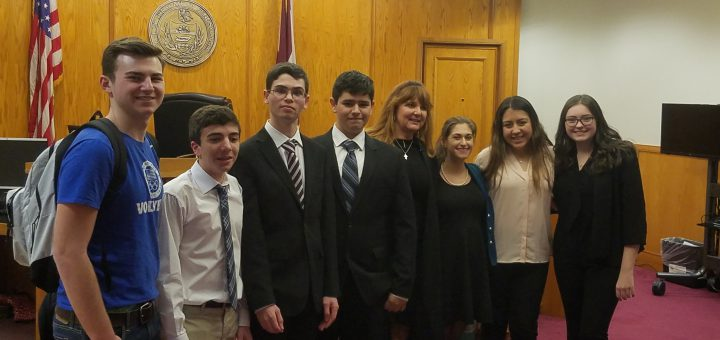 Mock Trial Competes against Harriton High School 1/30/2018
