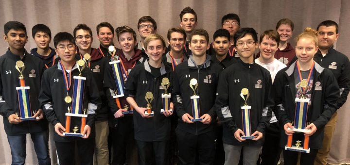 Abington Senior High Chess team competed in the 2018 Pennsylvania State Chess Championship
