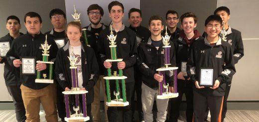 National Winners for Abington Senior High Chess Team