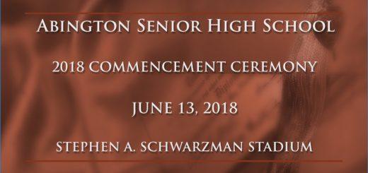 2018 Abington Senior High School Commencement