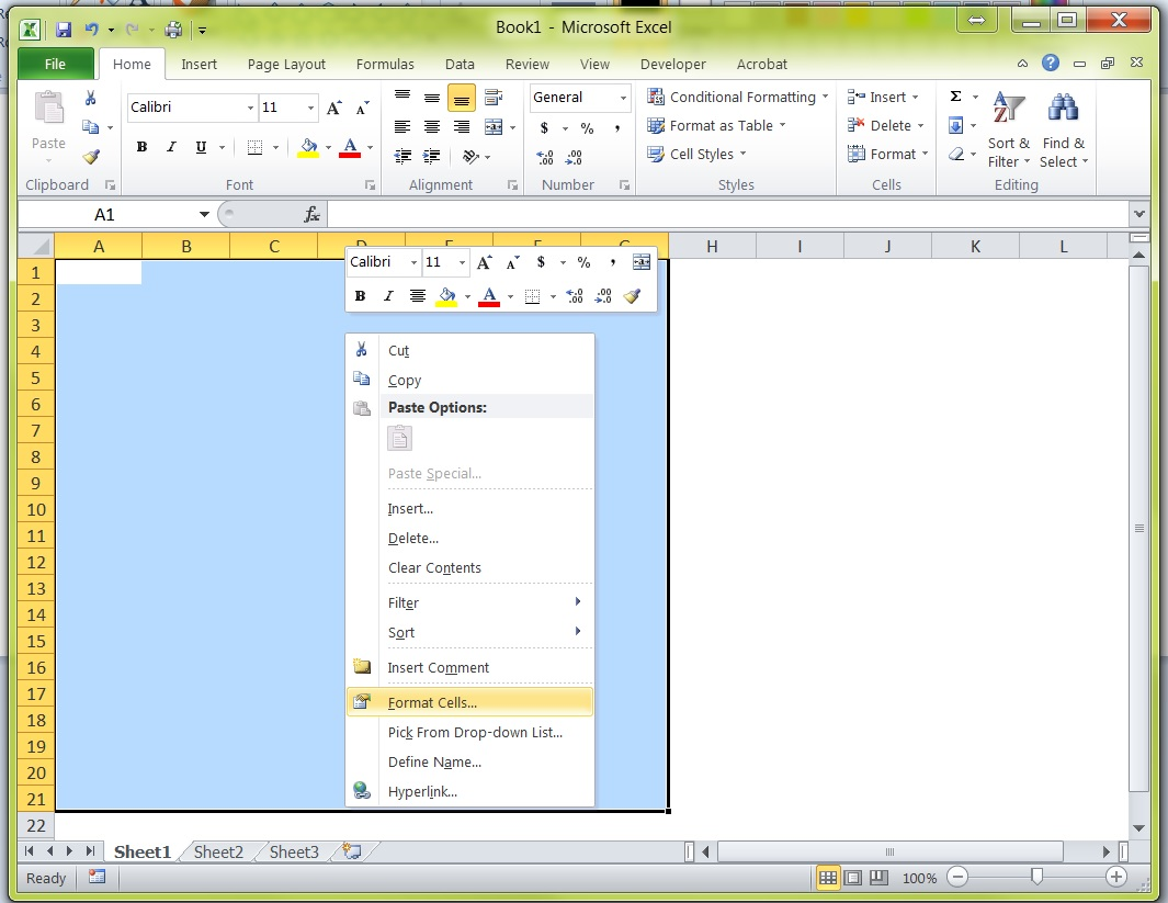 My MS Excel Gridlines Have Disappeared | Tech Savvy